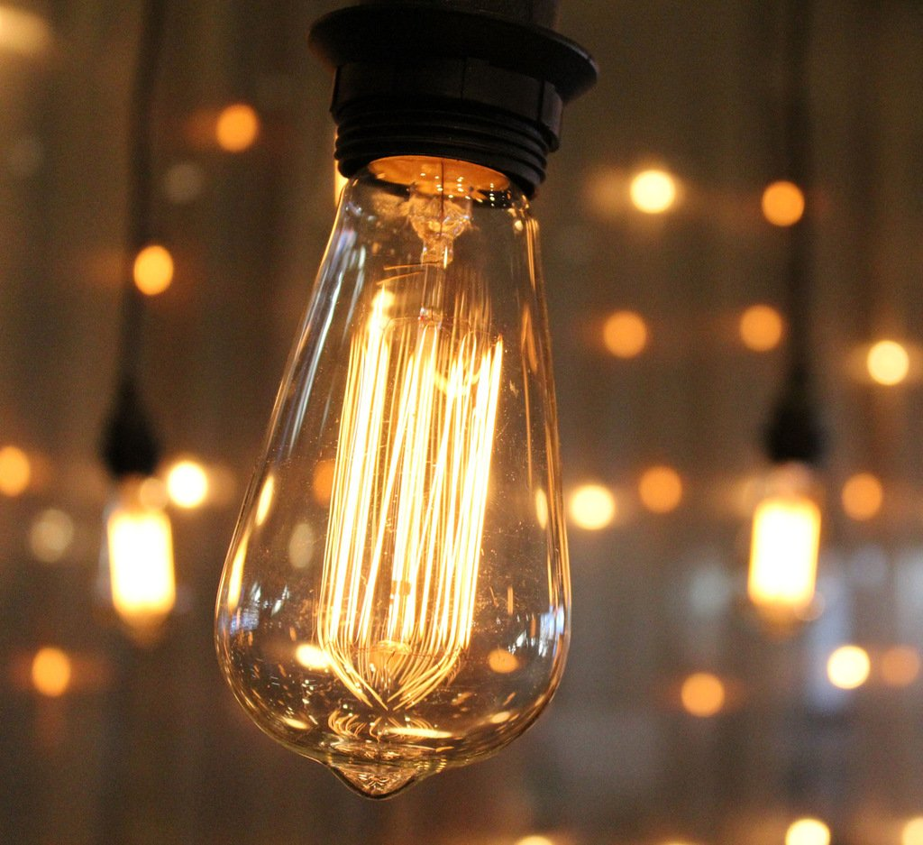 Edison String Lights Outdoor : Outdoor Weatherproof Vintage String Lights Patio Lights W/ Vintage Edison Bulbs eBay