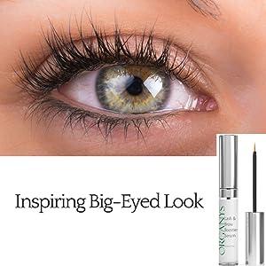 17b266563dc Organyc Eyelash & Eyebrow Growth Serum (High Potency) Grows Longer, Fuller,  Thicker Lashes & Brows in ...