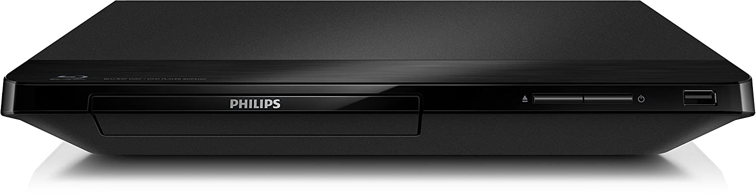 Philips BDP2100/F7B Factory Refurbished - Bluray Disc Player