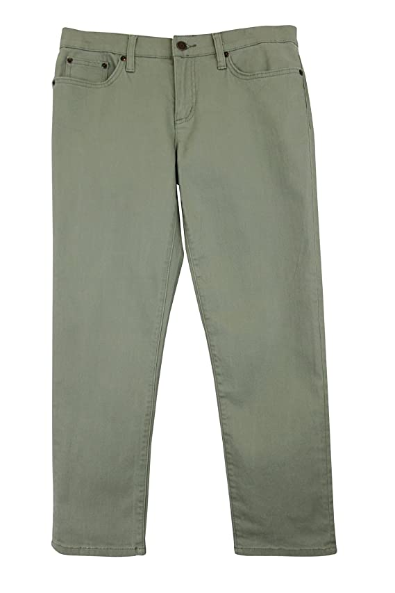 Ralph Lauren Women's Green Straight Jeans