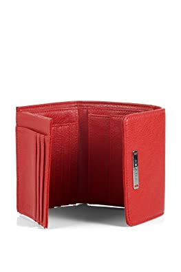 4fb230bde3197 ESPRIT mit praktischem Innenleben 015EA1V005 Damen Geldbörsen 12x10x1 cm (B  x H x T)