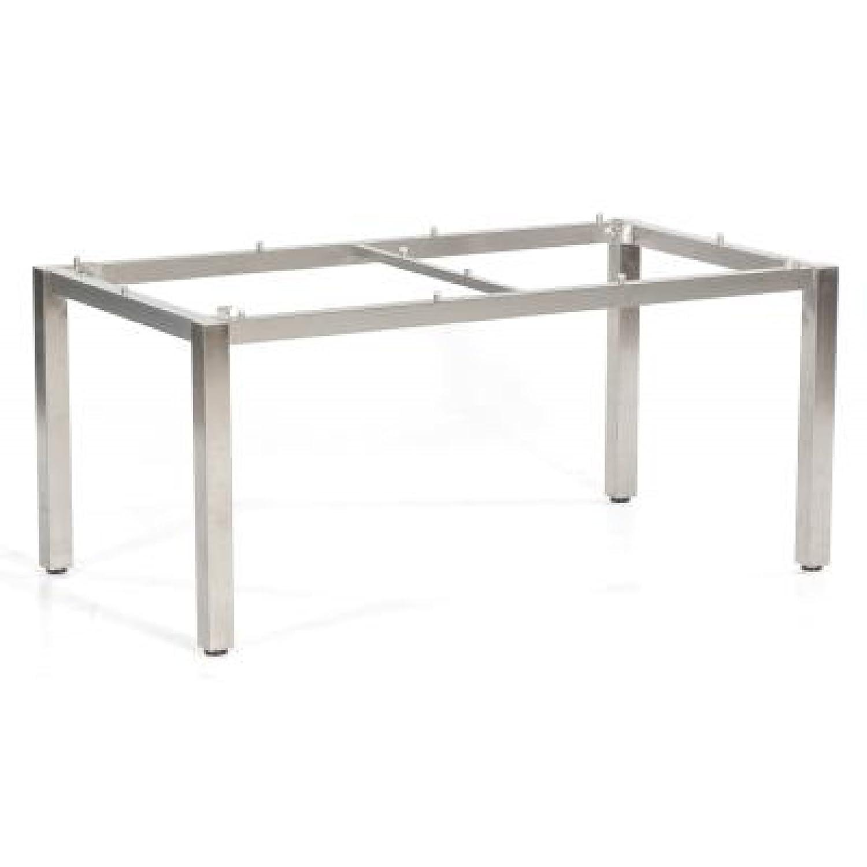 sonnenpartner edelstahl tischgestell base 200x100 by m sing online bestellen. Black Bedroom Furniture Sets. Home Design Ideas