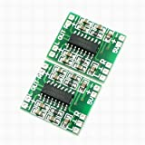 Fuxell Super Mini PAM8403 23W D Class Digital Amplifier Board 2.5-5V USB Power 2PCS