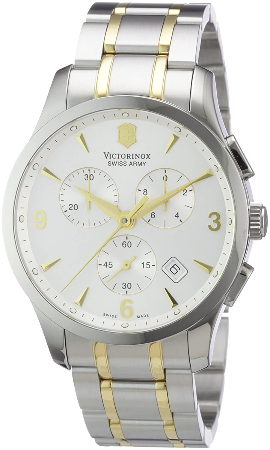 Victorinox Swiss Army Men's 241481 Alliance Two Tone Chronograph Watch