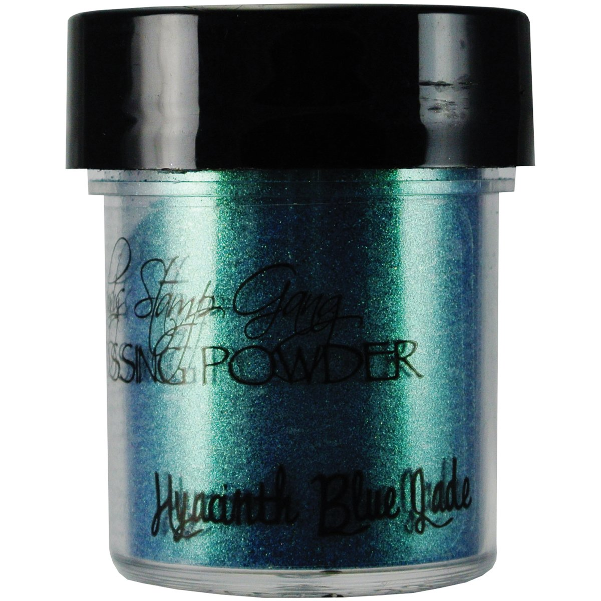 Lindy timbro Gang 2-Tone goffratura polvere .5Oz vasetti-giacinto blu verde   Comentarios de clientes y más información