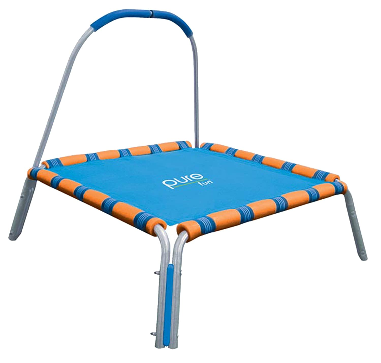 Kids Trampoline With Handle Fel7 Com