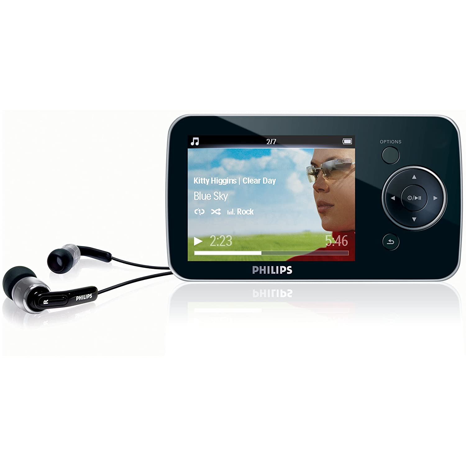 philips gogear opus 8gb mp3 video player bbc iplayer ebay. Black Bedroom Furniture Sets. Home Design Ideas