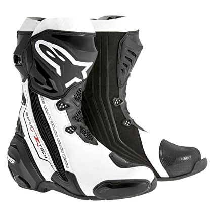 ALPINESTARS - Bottes Supertech R Noir-Blanc