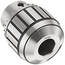 "Llambrich CBB Ball Bearing K30 Keyed Drill Chuck, 2JT Mount, 1-1/4"" Chuck Diameter, 1/64""-5/16"" Capacity"