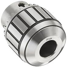 "Llambrich CBB Ball Bearing K30 Keyed Drill Chuck, 2JT Mount, 1-1/4"" Chuck Diameter, 1/64""-5/16"" Capacity"