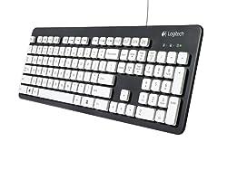 Post image for Logitech K310 für 18€ – abwaschbare Tastatur