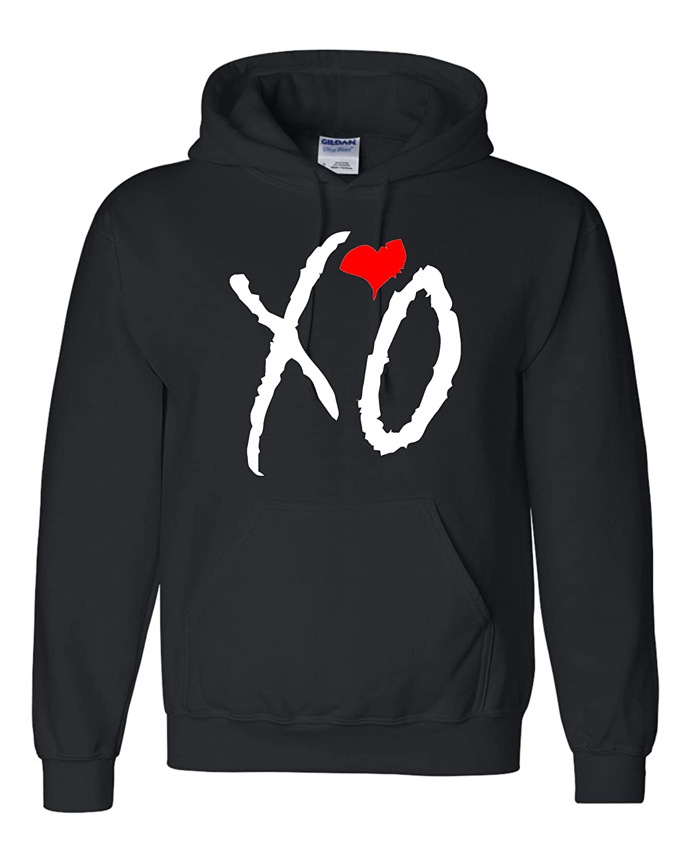 Black Adult XO The Weeknd Xo The Weeknd
