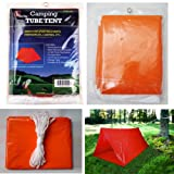 Lot of 3 Tube Tent Emergency Survival Camping Shelter 2 Persons Outdoor Hiking