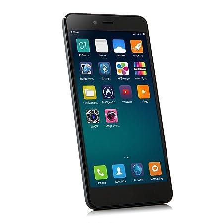 XIAOMI Redmi Note 2 Smartphone Débloqué 4G FDD LTE 2GB 16GB 64bit Octa Core 5,5 Pouces OS MIUI 6 Charge Rapide 13.0 MP Caméra (Noir)