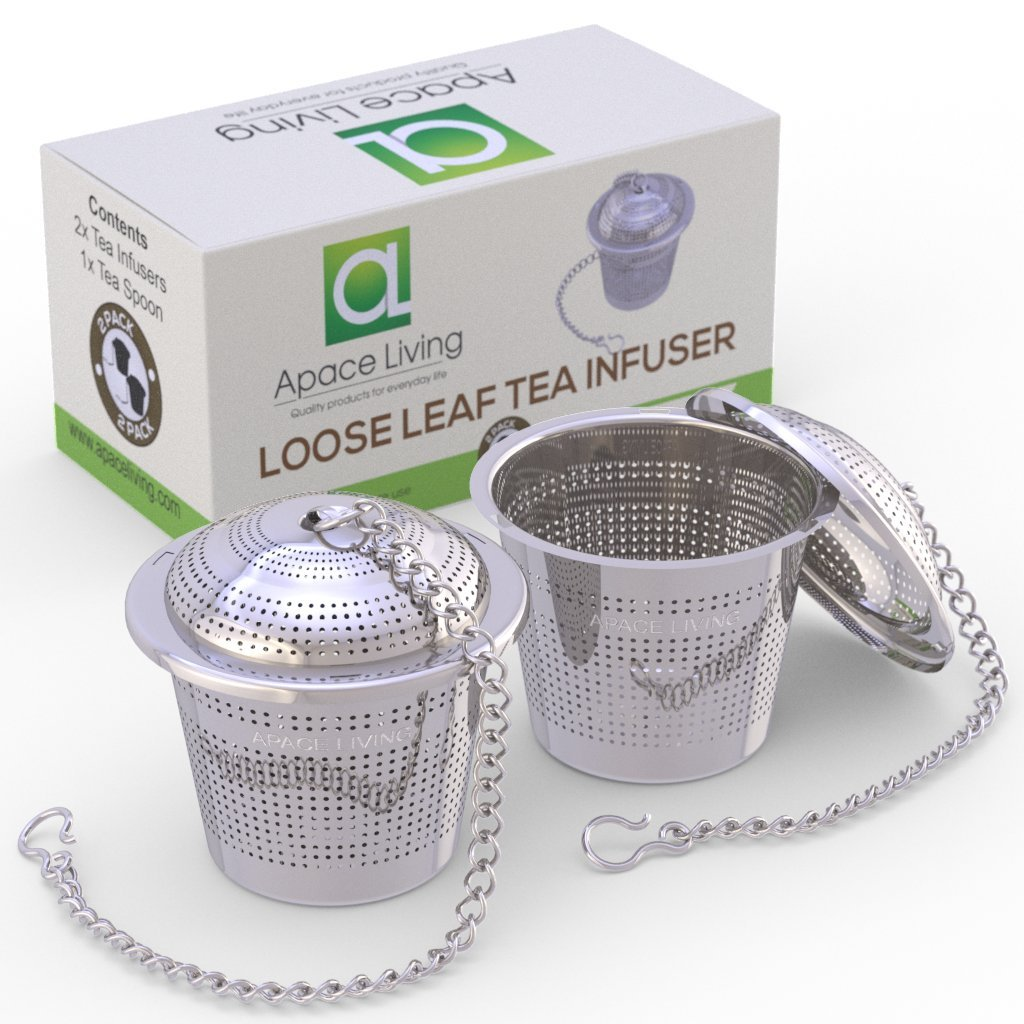 Loose Leaf Tea Infuser (Set of