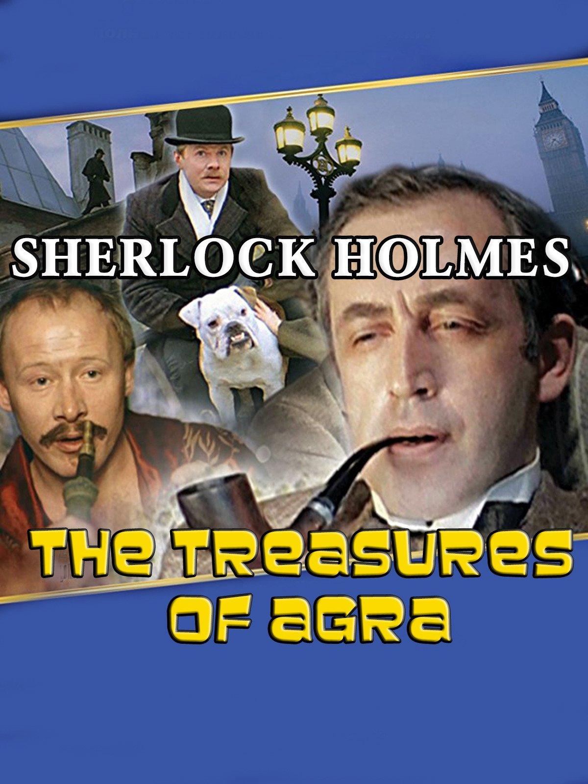 watch sherlock holmes the treasures of agra on amazon