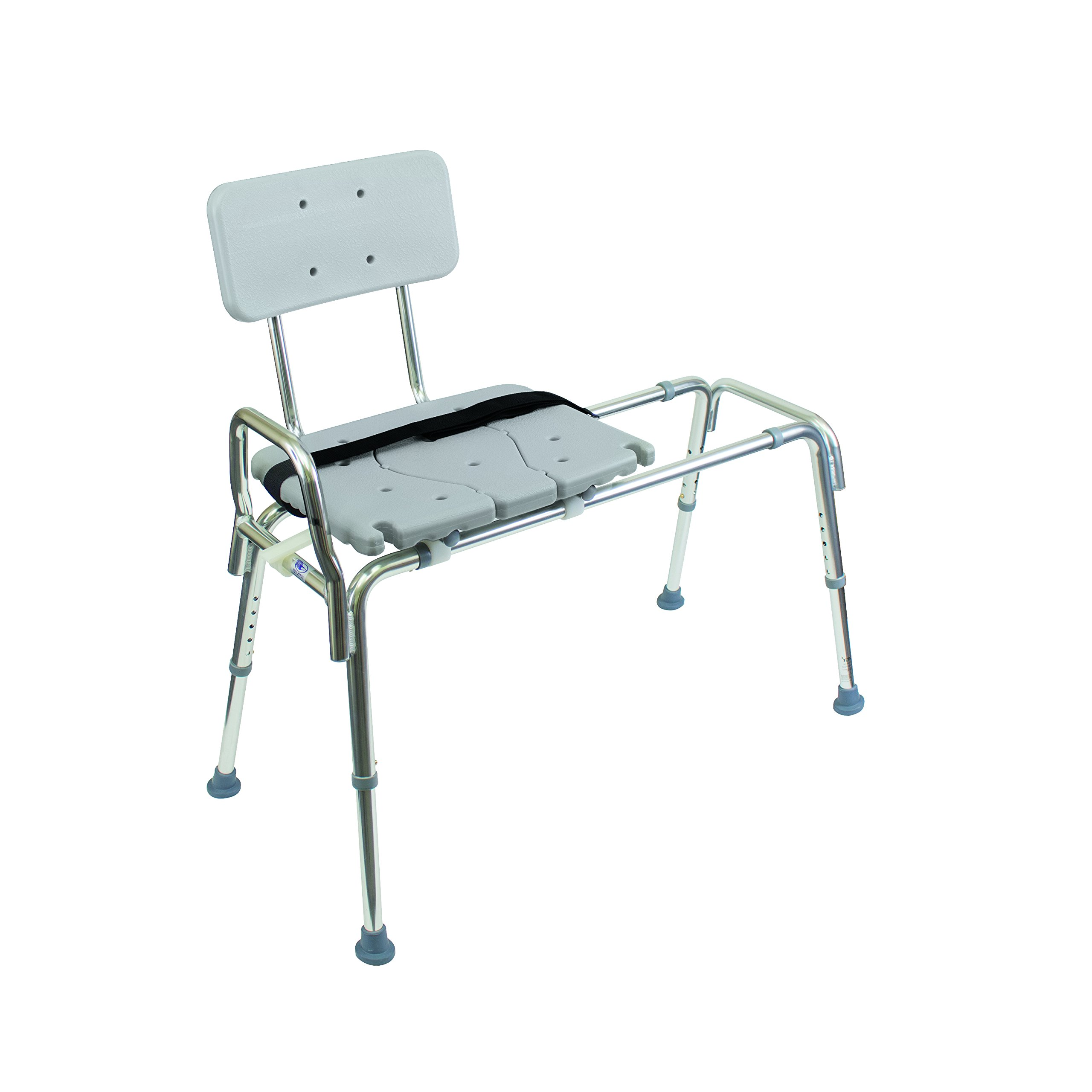 Duro med heavy duty sliding transfer bench shower chair with cut out seat and ebay Transfer bath bench