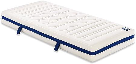 Irisette 03888390235 freddo schiuma materasso vita Flex tube poliestere 210 x 100 x 20 cm, bianco