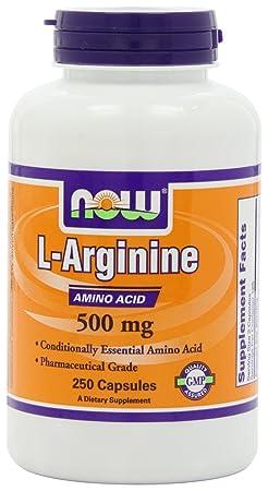 海淘男士保健品推荐:NOW Foods Arginine 精氨酸