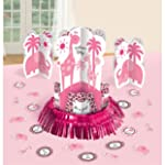 Amscan Sweet Safari Girl Centerpiece Decorations