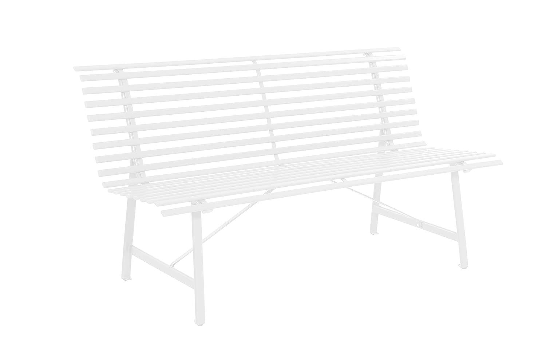 Leco 33233100 Stahlgartenbank, elfenbein jetzt kaufen
