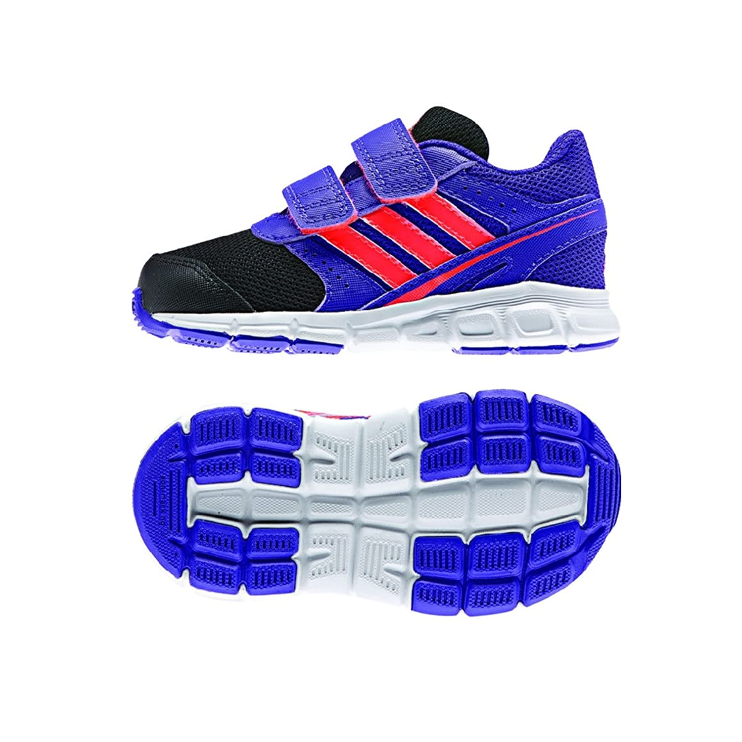 adidas Performance Hyper Fast CF I 2 Strap Shoe (Toddler)