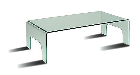 Mesa cristal de centro NIAGARA cristal transparente. ULTIMAS UNIDADES¡¡¡