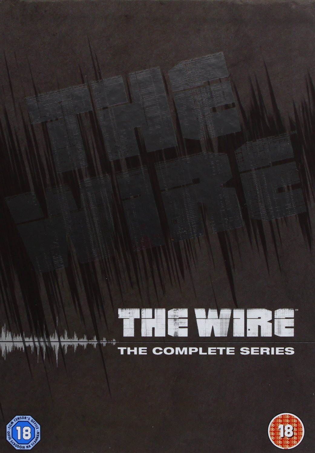 DVD-TV-Series-The-Wire-Complete-Seasons-1-5-R2-PAL