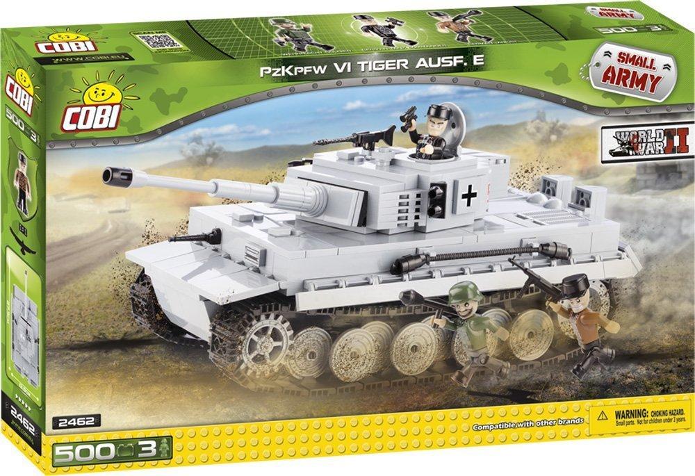 COBI 2462 – Small Army WWII Tiger PzKpfw VI Ausf. E – 500 Bausteine jetzt bestellen