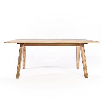 Adwood nordic tisch asteiche ge lt matt gr e 1 180x90cm for Tisch nordic design