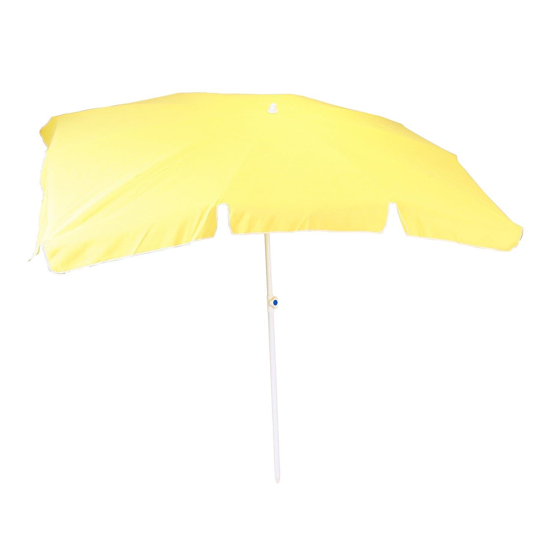 Greemotion, terrassenschirm UV 35+ rechteckig, gelb, ca. 230 x 150 cm, Höhe: ca. 238 cm günstig online kaufen