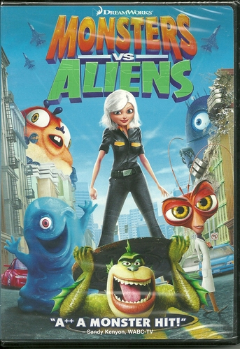 Amazon.com: Monsters vs. Aliens: Seth Rogen, Reese Witherspoon, Hugh