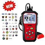 KONNWEI OBD2 Car Diagnostic Scanner, KW818 Pro Universal Car Code reader Vehicle Diagnostic Tool, OBD2 EOBD Scanners Tool Check Engine Light Code Reader for all OBDII Protocol Cars Since 1996