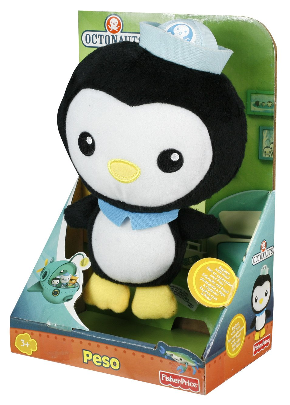Fisher-Price Octonauts Peso Plush - 178.0KB