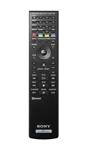 Original PlayStation 3 Blueray Remote Control For TV audio system (Accessories) (Color: Original Version)