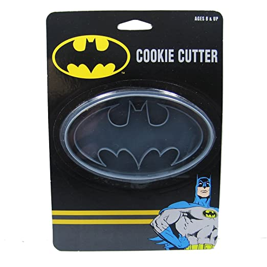 Amazon.com: ICUP DC Batman Logo Cookie Cutter, Clear: Kitchen & Dining