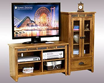 Sunny Designs Entertainment Center Sedona SU-3398RO-42-AP