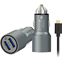 JDB 36W Dual Quick Charge 2.0 USB Ports Quick Car Charger