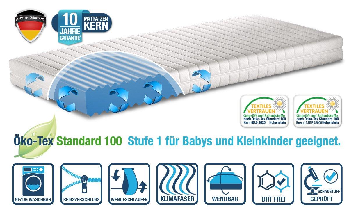 Kindermatratze und Jugendmatratze 'Razze' 140×200 RG 45 MADE IN GERMANY! online bestellen
