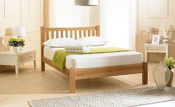 Duchess Solid Oak Bed, 6' Super Kingsize