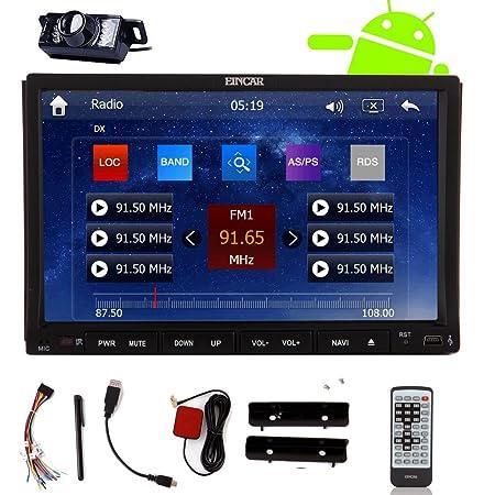 Eincar Nouveau modššle Android Systššme lecteur DVD de voiture 7 pouces Double Din En Dash HD capacitif šŠcran Multi-Touch GPS Navigation stšŠršŠo Wifi Radio