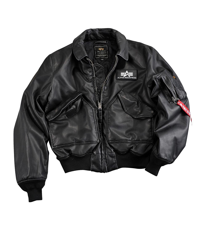 Alpha Industries CWU FL Übergangsjacke Black