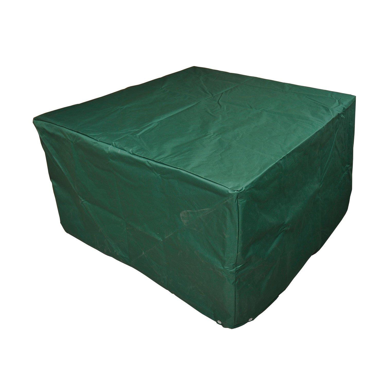 Outsunny Schutzhülle Abdeckung Abdeckhaube für Gartenmöbel 135 x 135 x 75 cm, grün günstig