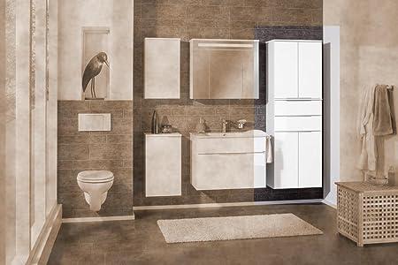 Fackelmann Kara-Tall Cupboard White
