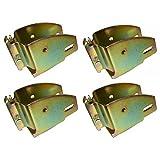 (4) E-Track Wood Beam Holder Socket Fittings for Load Bar Shelves Custom Cabinet