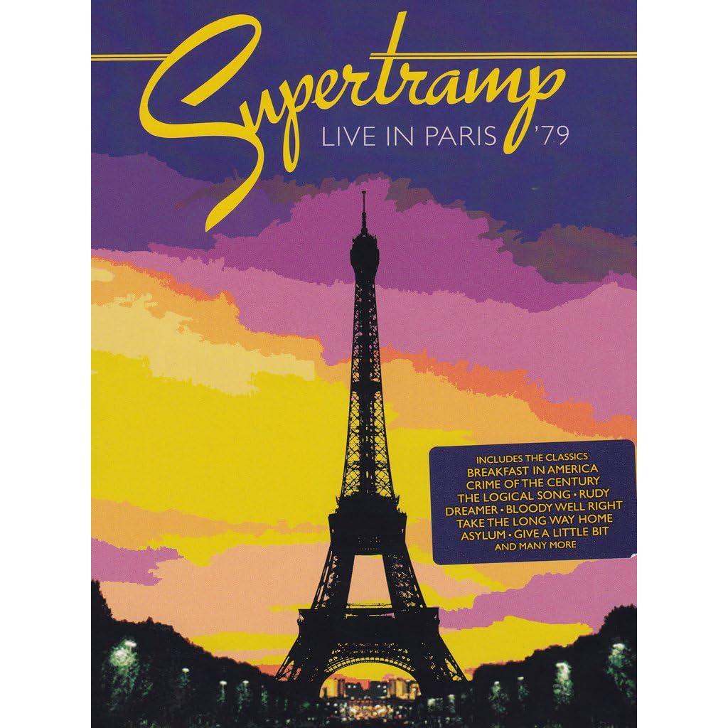 Paris Dvd Supertramp Supertramp Paris