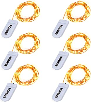 Kohree LED String Fairy Light 6-Pk