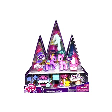 My Little Pony Exclusive Playset Celebration at Canterlot Castle Includes Twilight Sparkle Starbeam Twilight by My Little Pony