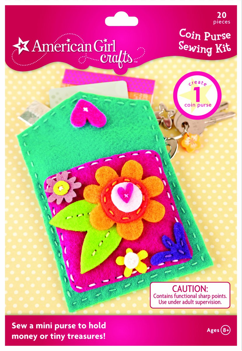 American girl crafts coin purse sewing kit new free for American girl craft kit