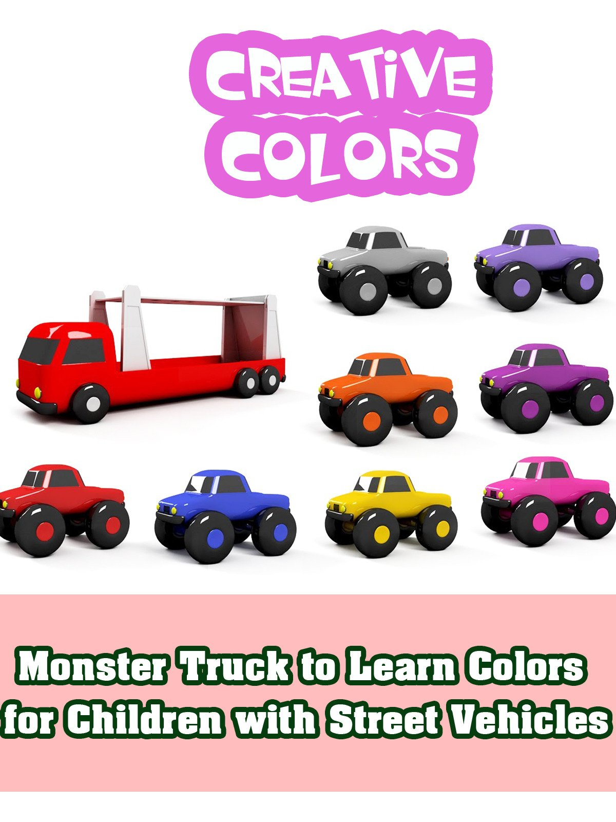 Monster Truck to Learn Colors for Children with Street Vehicles on Amazon Prime Video UK